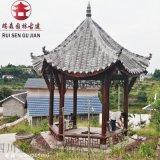 資陽實木亭子廠家,防腐木涼亭廠家直銷
