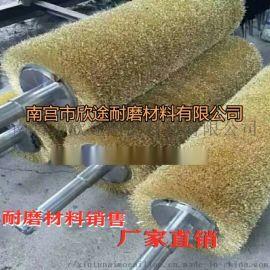 鋼絲刷輥 銅絲刷輥 金屬拋光拉絲刷輥磨料絲刷輥