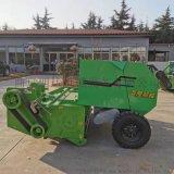 拖拉机带的收割粉碎打捆机,小圆捆玉米秸秆打捆机