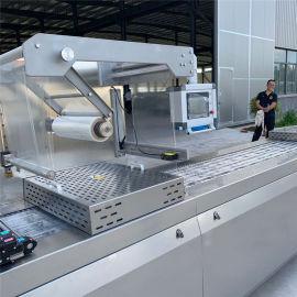 猪蹄拉伸膜包装机 全自动拉伸膜包装设备