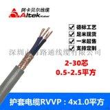 深圳阿卡贝尔线缆 多芯电缆rvvp rvvp厂家