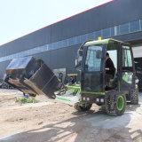 2-4方自上料攪拌罐車 移動式水泥剷鬥攪拌運輸車