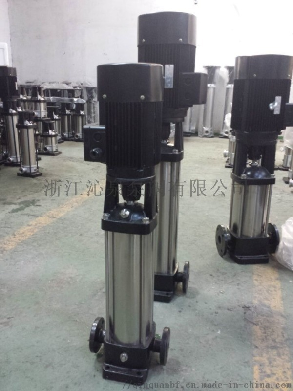 沁泉 輕型不鏽鋼臥式多級泵 家用衛生級離心泵