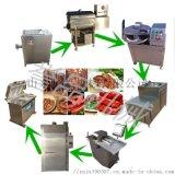 红肠灌肠机器多少钱_灌肉块 肉条 肉泥的管装设备生产厂家