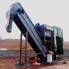 通畅粉煤灰卸车机 铁运箱装干灰中转设备 无尘卸灰机