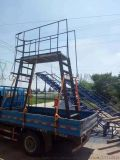 武漢合肥生產金屬料架鐵質網框帶輪子防靜電流水線爬梯