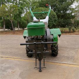 小型大棚旋地机, 松土开沟四驱微耕机
