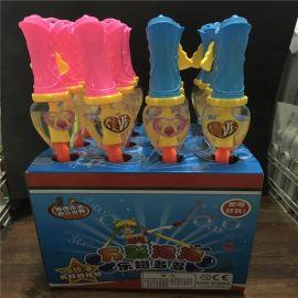 跑江湖玩具批发大泡泡棒 46CM西洋泡泡剑 七彩泡泡水 新型夏天泡泡 地摊玩具