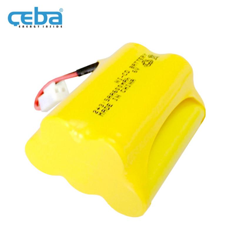 2+3AA镍镉电池组消防应急灯镍电池6V