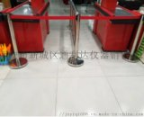 西安銀行柱不鏽鋼伸縮柱伸縮隔離柱