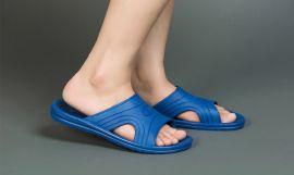 无尘防静电拖鞋 spu材质无尘车间拖鞋