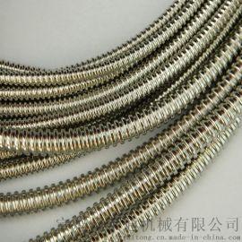 304加厚双扣金属软管 穿线铠装波纹管