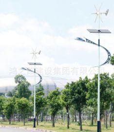 厂家直销8米10米一体化LED太阳能路灯 风光互补