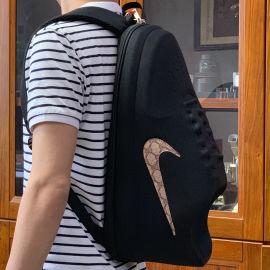 热卖快手创意个性休闲巨型超大鞋子书包双肩背包学生