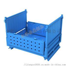 折叠金属周转箱定制-可堆跺周转箱生产-合肥江泽金属