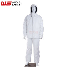 思夫迪厂家供应保温夹克套装 可定制防寒服零下30°