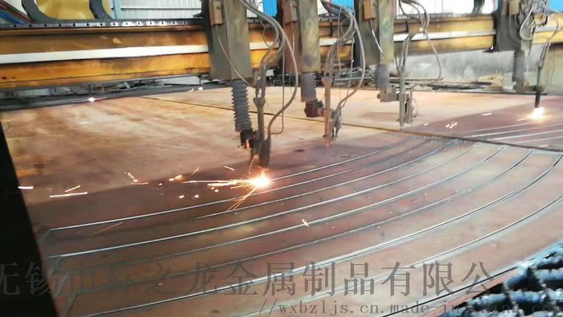 Q345R特厚钢板切割