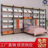 家纺店展示架四件套被芯枕头展示柜 床上用品布料货架