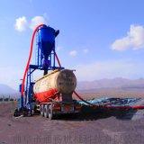 通暢粉料輸送設備 無塵自吸粉煤灰裝車機 氣力輸送機