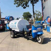 環衛沖洗高壓灑水車, 定做三輪底盤高壓灑水車
