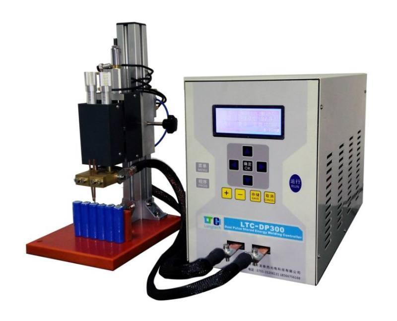 鋰電池點焊機龍泰西提供 中山自動化18650點焊機 公司 15607768684