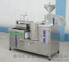 豆腐机花生 磨煮浆豆腐一体机 利之健食品 豆腐皮机