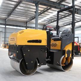 供应1吨座驾压路机 小型全液压压路机 钢轮振动碾