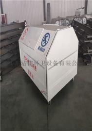 垃圾箱厂家供应移动钩臂垃圾箱 4方5方可定制垃圾箱
