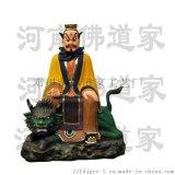 三茅真君雕塑 十二金仙神像廠家 溫元帥圖片