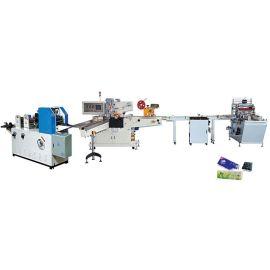 全自动手帕纸生产线 餐巾机 自动分叠数片 三维包