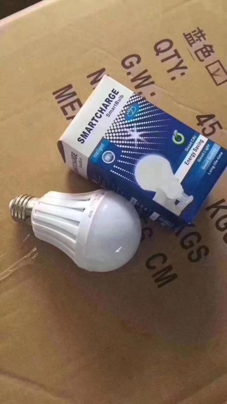 趕集擺攤LED遇水感應燈應急燈廠家