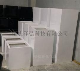 肇庆泽弘玻璃钢厂家直销方形玻璃钢花箱组合
