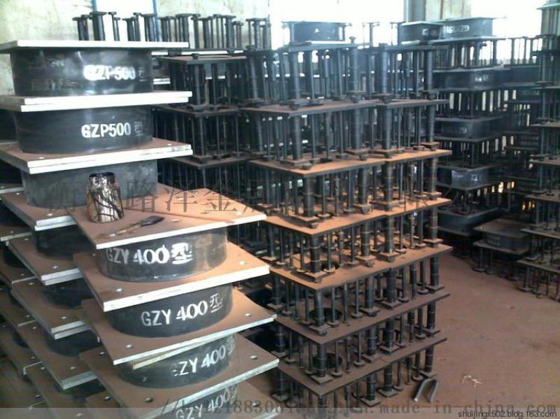 路泽钢结构生产厂家直销铅芯隔震橡胶支座