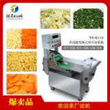 多功能蔬菜切片切丝切丁切段机 双头切菜机