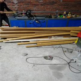 温州仿木纹竹子铝管 双竹节木纹铝合金圆管特点