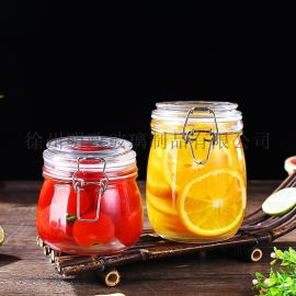 密封罐储物罐蜂蜜罐柠檬酱罐咸菜罐杂粮罐泡菜坛玻璃瓶