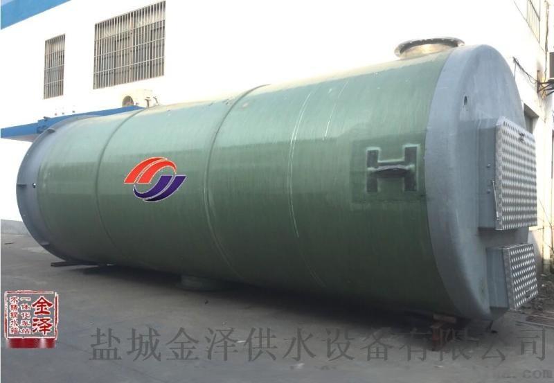 一體化污水泵站在城鎮排污設計設備