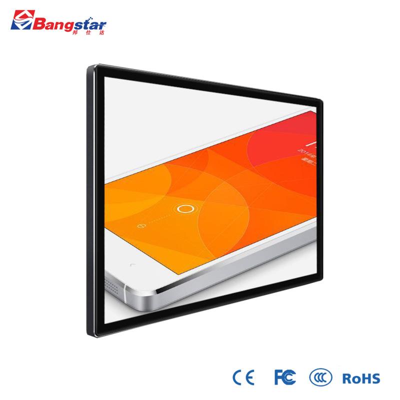 49寸壁挂触摸广告机红外纳米钢化玻璃智能显示