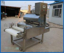 冻肉分块切条 自动切块机 一次成型切鸡块机