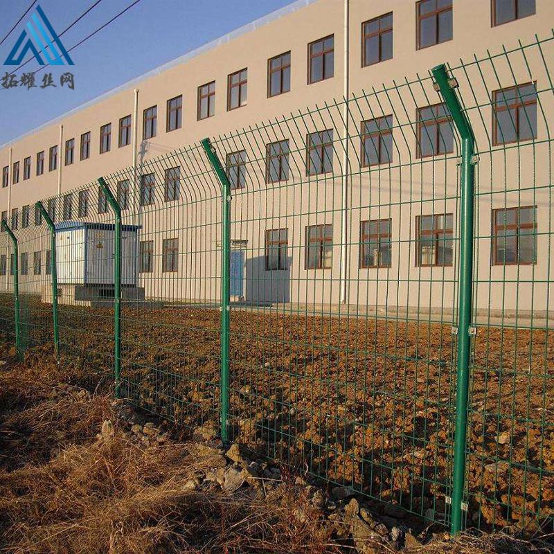 铁丝园林防护网 果园双边围栏