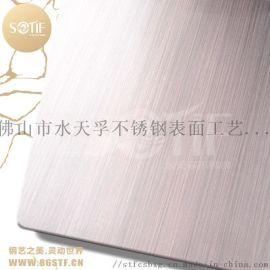 商场KTV电梯门套喷砂镀铜不锈钢装饰板 厂家定制