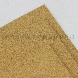 高密度软木照片墙留言板规格厚度可订 软木卷材彩色