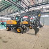 90型轮式挖掘机 轮胎式挖掘机   用轮式挖掘机