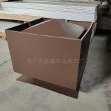 工程项目用铝合金烟囱帽 防倒灌烟囱帽尺寸定制