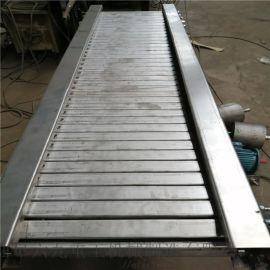 铁板式输送机 运行平稳链板机LJ1 石块用输送机