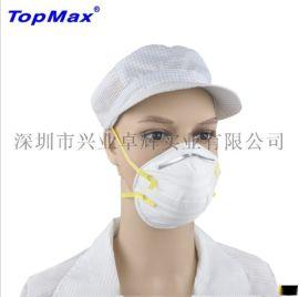 優質顆粒物防護口罩防粉塵口罩編織頭帶N95口罩