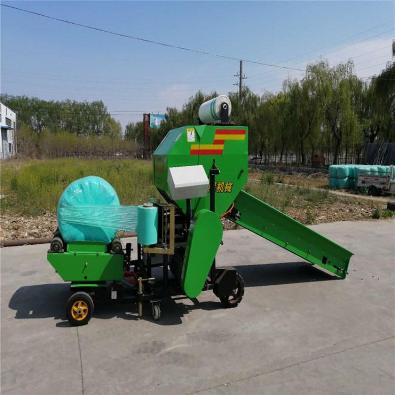 青储玉米秸秆打包机,大型玉米秸秆打捆机