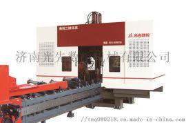 数控三维钻床400钢结构立体车库钢构H钢槽钢方管生产线