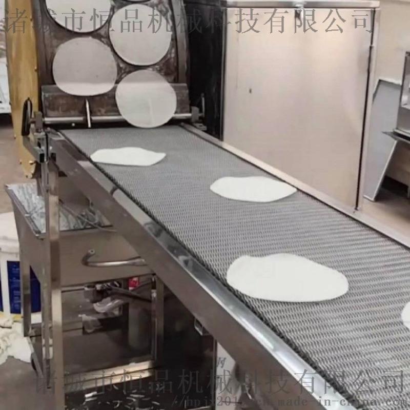 简单易操作烤鸭饼机  新工艺荷叶饼成型设备