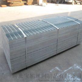 电镀锌钢格板厂家供应于建筑工地,化工